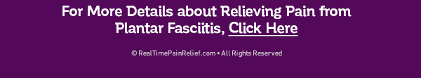 5 Tips to Relieve Plantar Fasciitis
