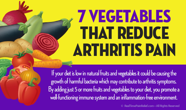 7 Vegetables That Reduce Arthritis Pain Real Time Pain