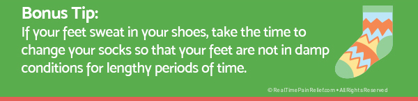 how to take care of feet