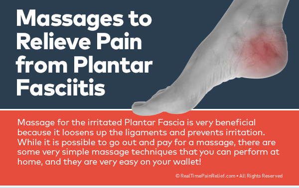 massages to relieve plantar fasciitis
