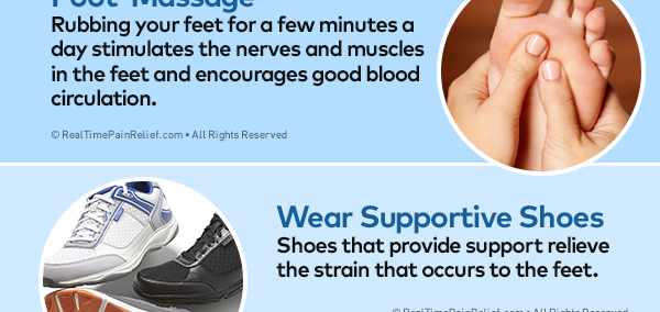 Natural Ways To Relieve Foot Pain Real Time Pain Relief