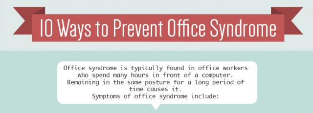 10-ways-to-prevent-office-syndrome