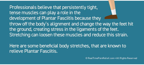 stretches can relieve pain from plantar fasciitis